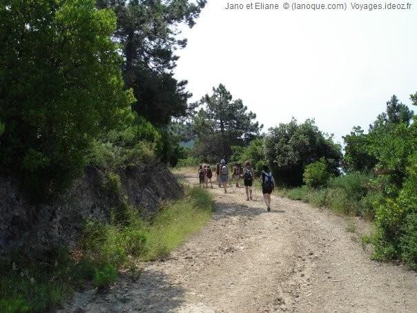 Randonnée sur le sentier de Cinque terre vers Deiva Marina