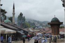 Sarajevo fontaine sebilj Bascarsija