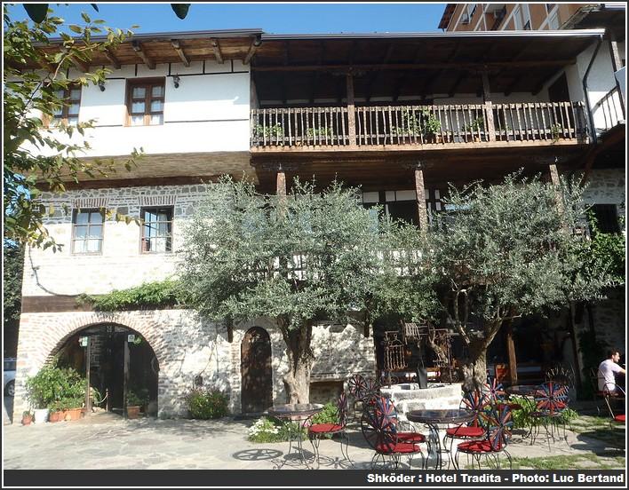 Shkoder Hotel Tradita Albanie