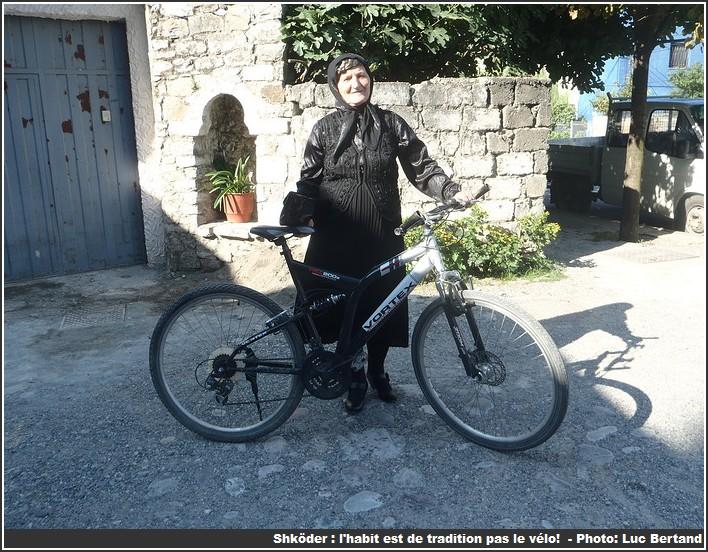Shkoder albanaise a velo