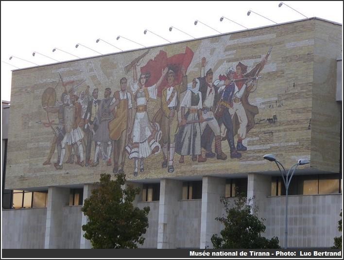 Tirana musee national