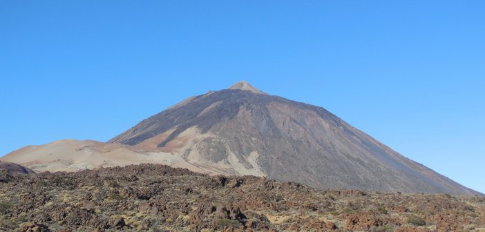 Parc national du Teide; randonnée sur l'Ile de Ténérife aux Canaries