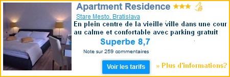 apartment residence bratislava