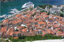 baie de Kotor au Montenegro