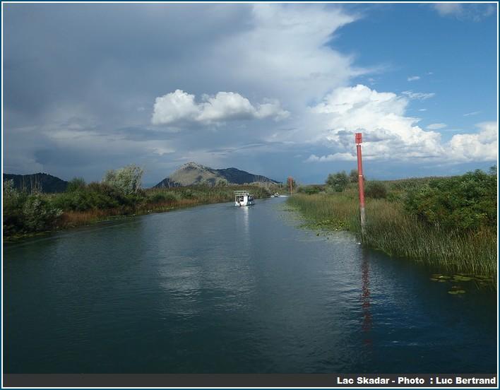 balade Lac Skadar au Montenegro