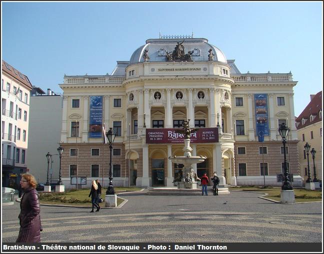 bratislava Theatre National de slovaquie