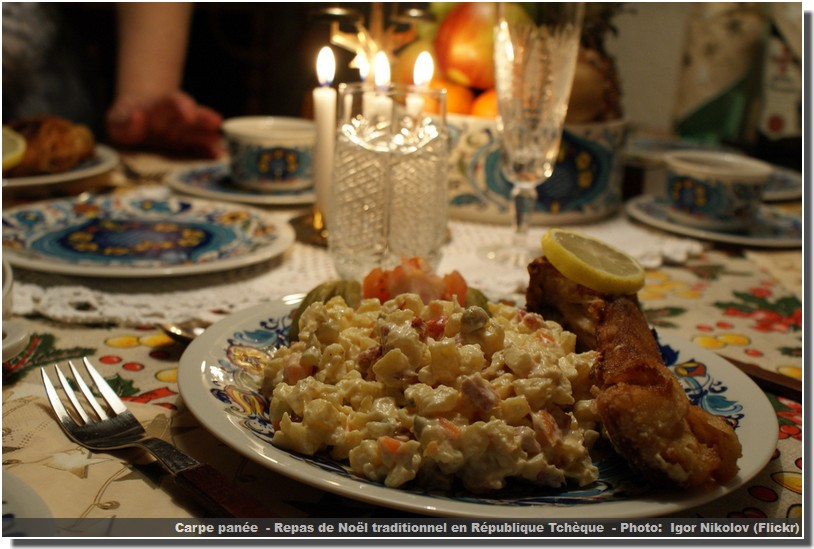 Menu Traditionnel De Noel.Noel Traditionnel Tcheque Une Journee Particuliere