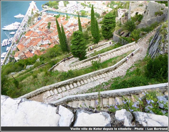 visiter kotor depuis la citadelle