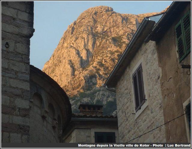 montagne depuis Kotor