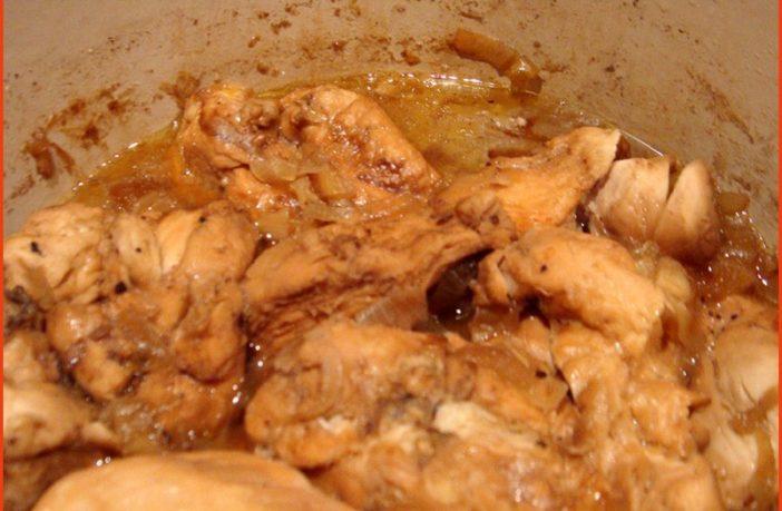 poulet au vin jaune du jura