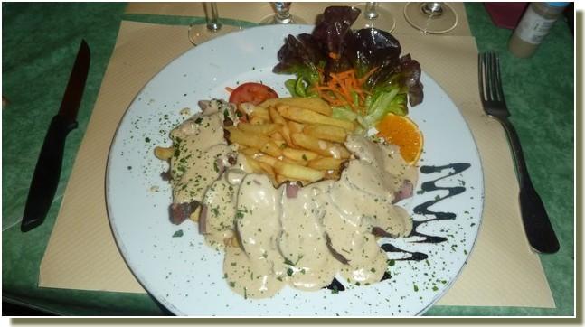 restaurant petit-gazouillis castelnaudary magret aux cepes