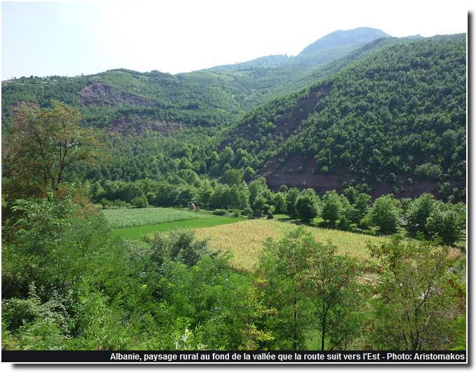 Albanie paysage rural