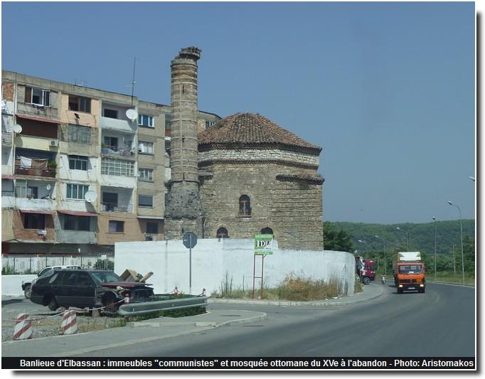 Banlieue Elbassan mosquee
