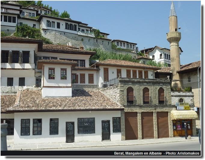 Berat Mangalem Albanie