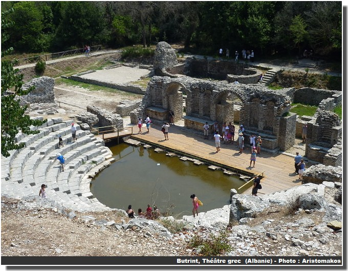 Butrint Théâtre grec