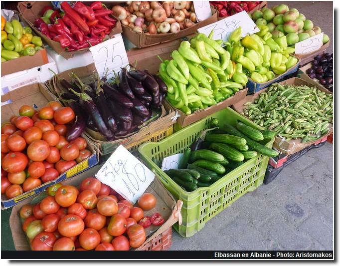 Elbassan marchand de legumes