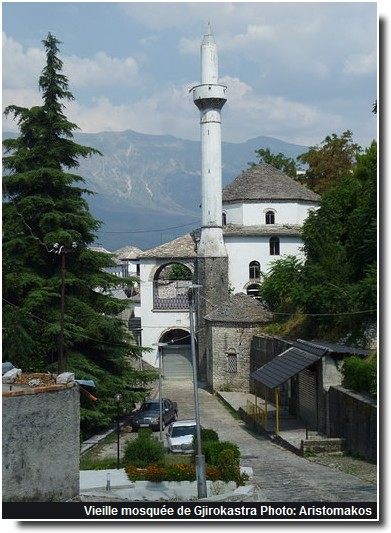 Gjirokastra vieille mosquee