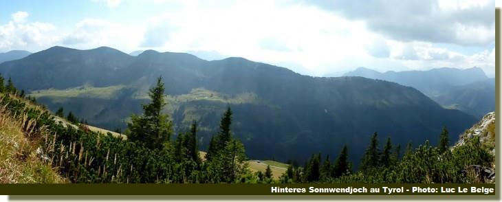 prealpes bavaroises Tyrol autrichien