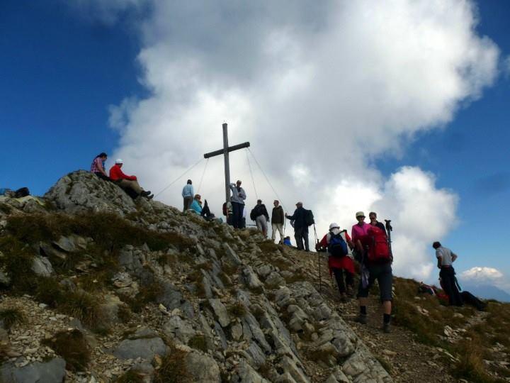Hinteres Sonnwendjoch croix