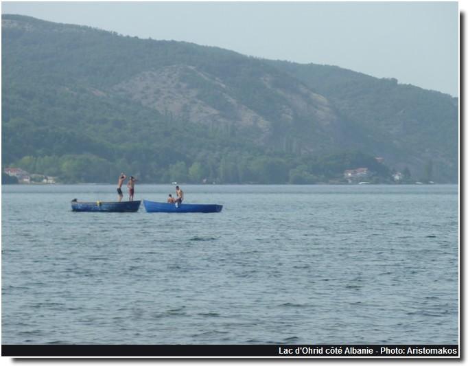 Lac Ohrid coté Albanie
