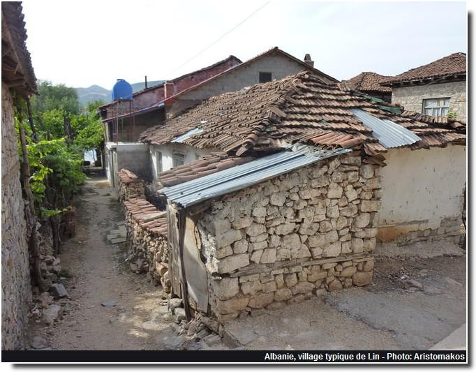 Lin village typique albanais