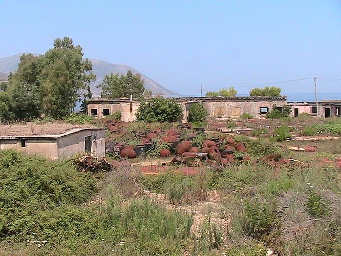 Orikum base militaire Albanie