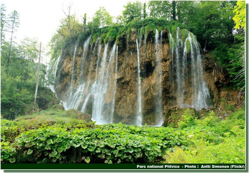 Parc national Plitvice chutes