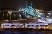 budapest tramway de noel