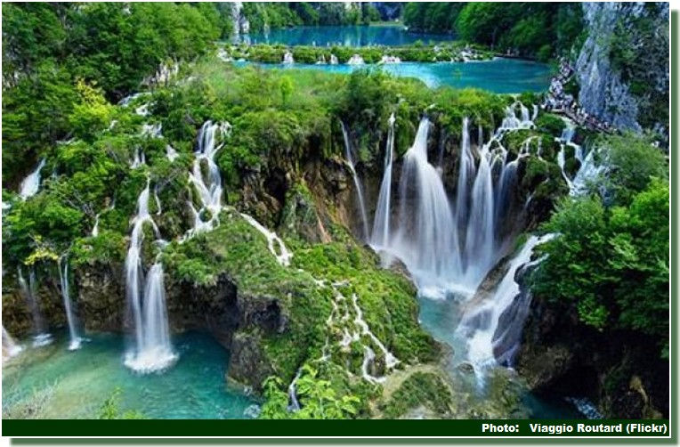 chutes parc national Plitvice
