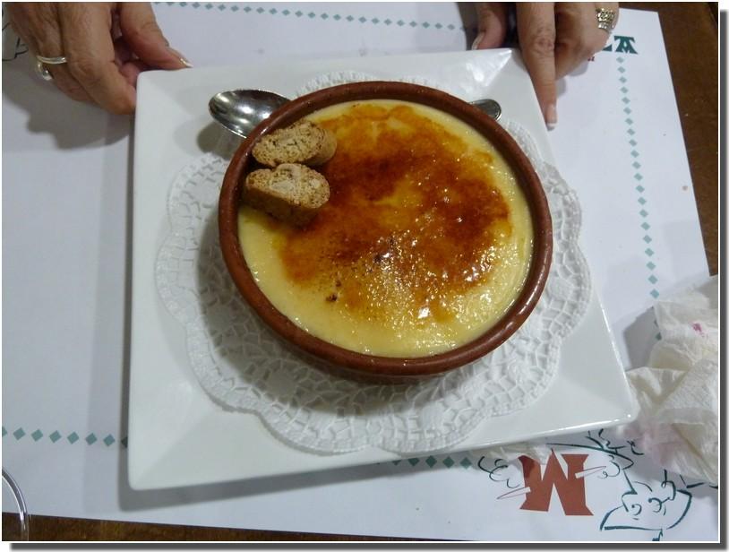 creme catalane Taberna Maitea barcelone