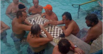 joueurs echecs Bains Budapest