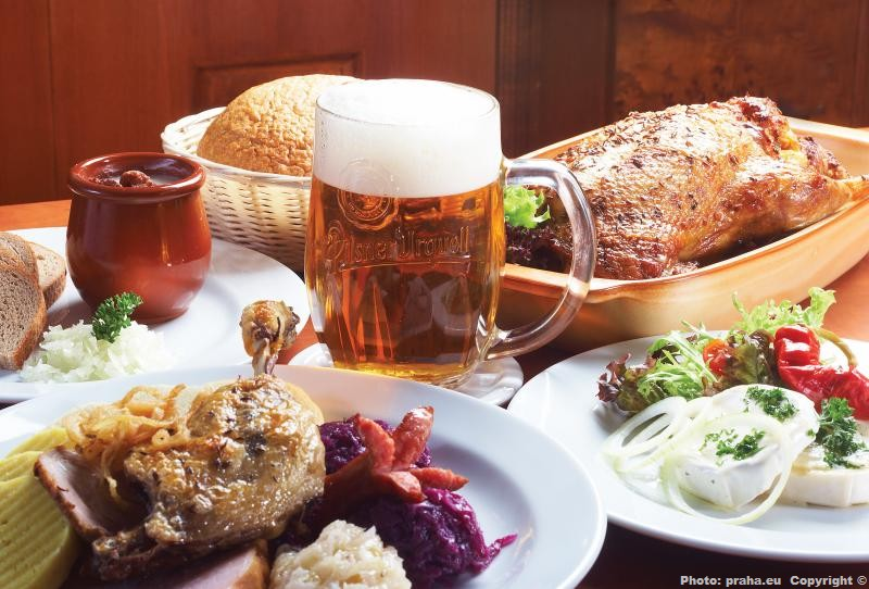 Traditional Czech Food Restaurant Prague