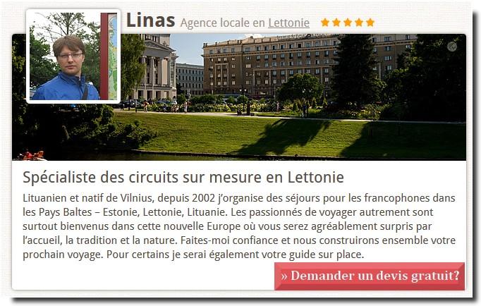 Agence de voyage Lettonie