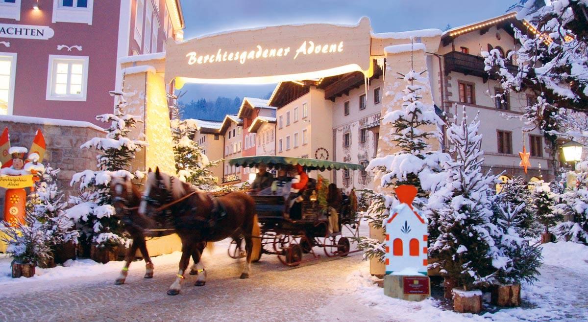Berchtesgaden pendant l'Avent