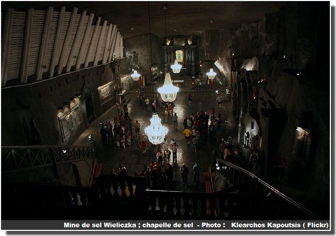 Chapelle de sel Wieliczka