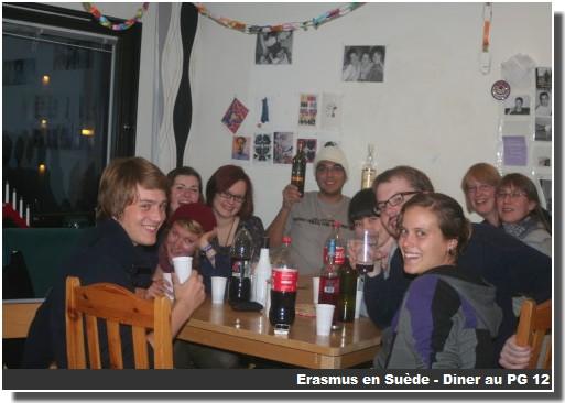 Diner PG12 Erasmus en suede
