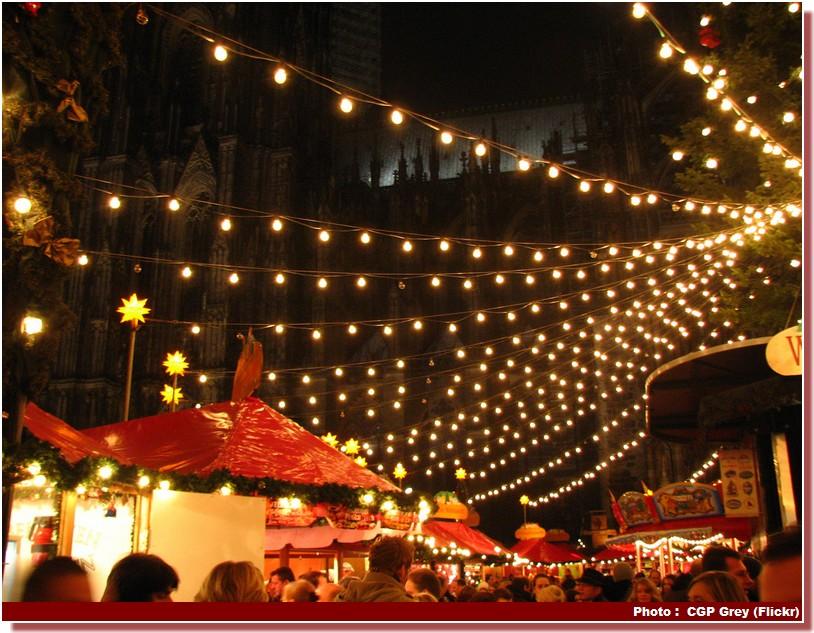 Marché de NoËL Cologne