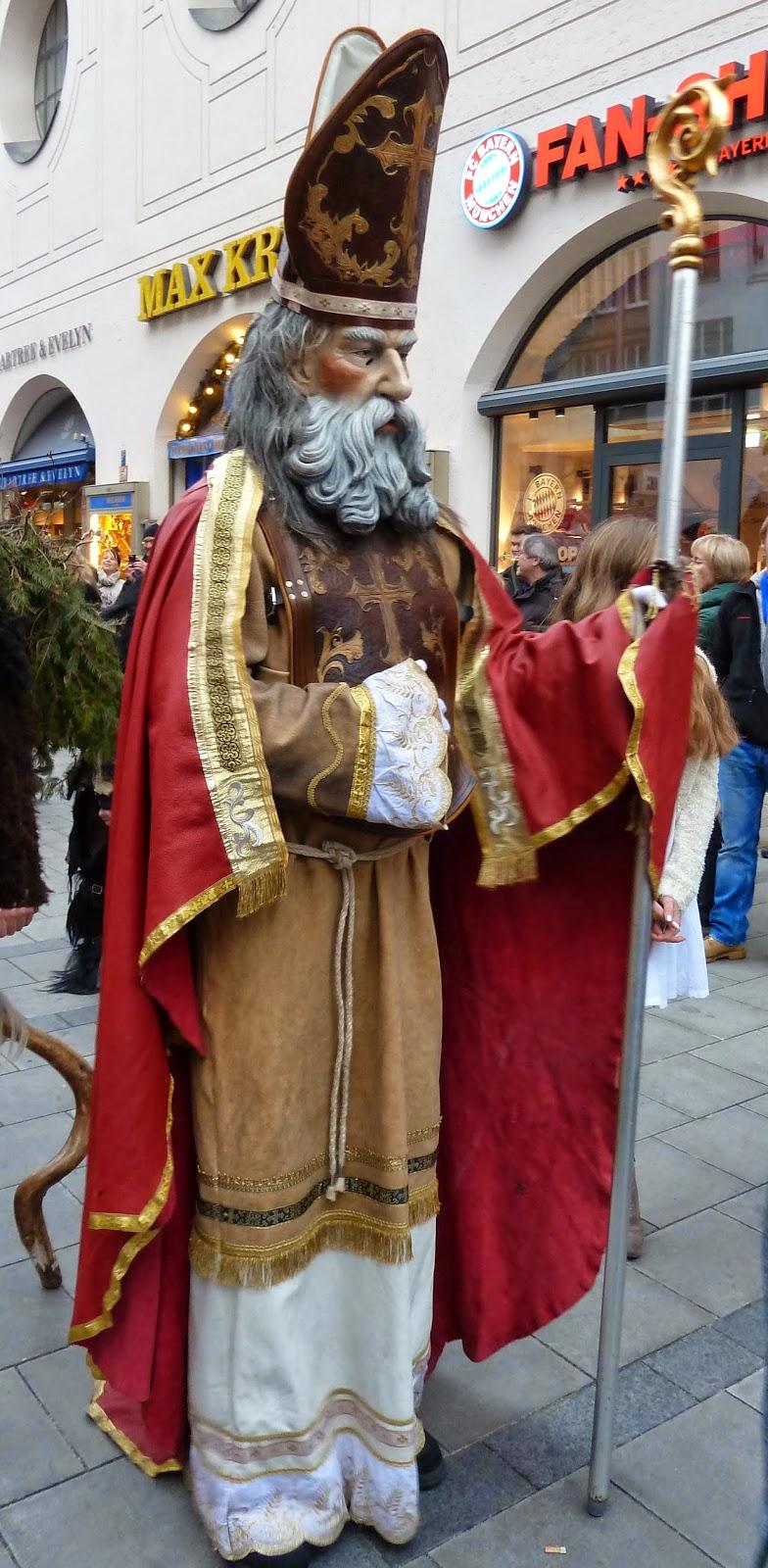 Rencontre avec les Krampus à Munich à l'occasion de Saint Nicolas 9