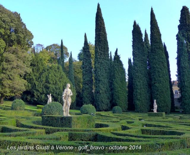 Verone jardin giusti