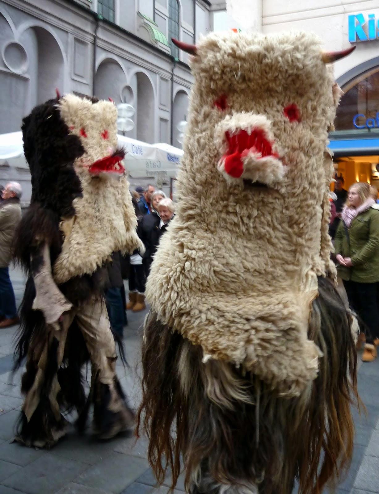Rencontre avec les Krampus à Munich à l'occasion de Saint Nicolas 6