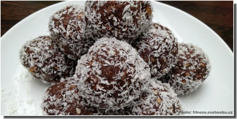 kokosove koule boules au coco