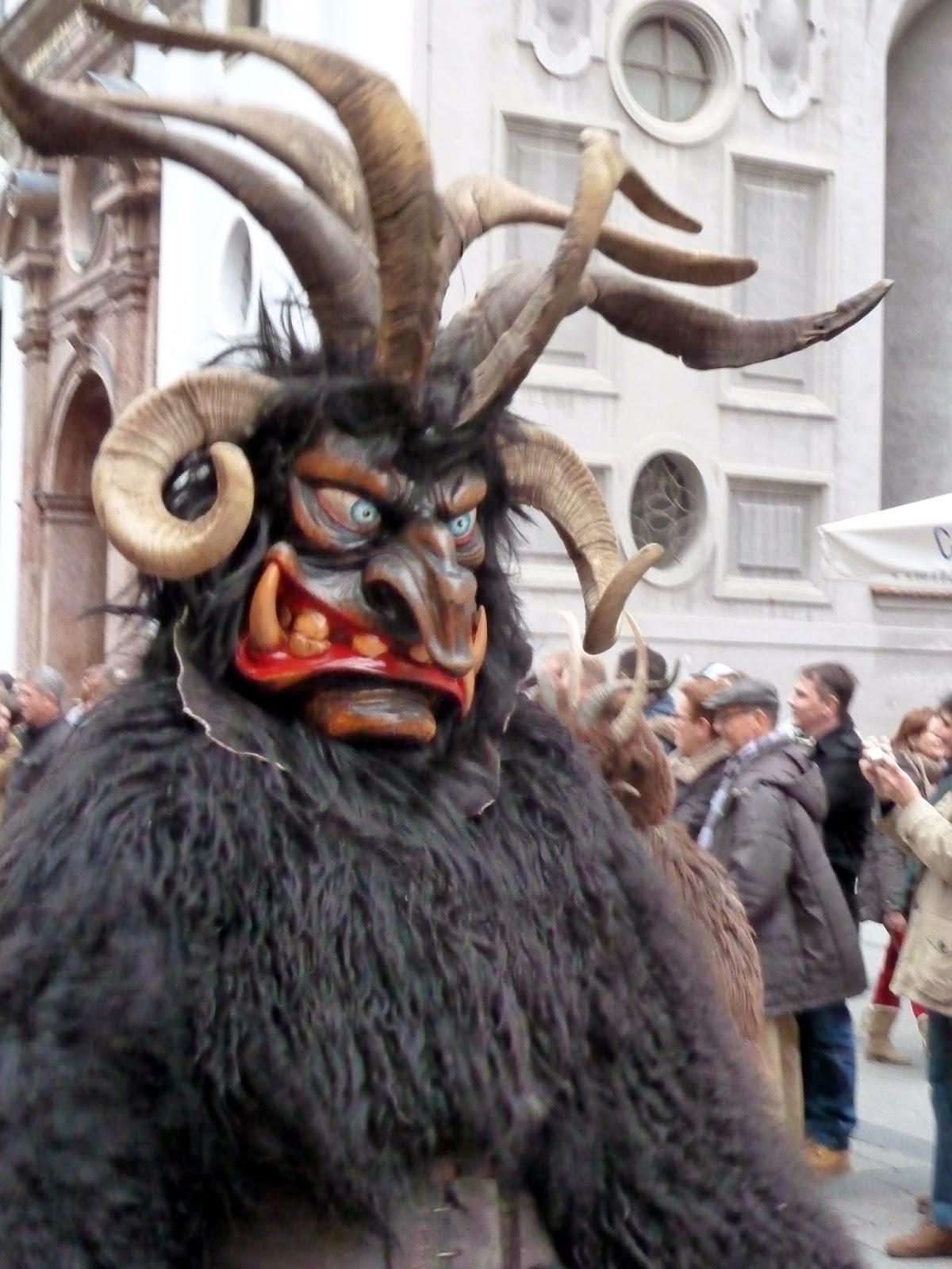 Rencontre avec les Krampus à Munich à l'occasion de Saint Nicolas 4