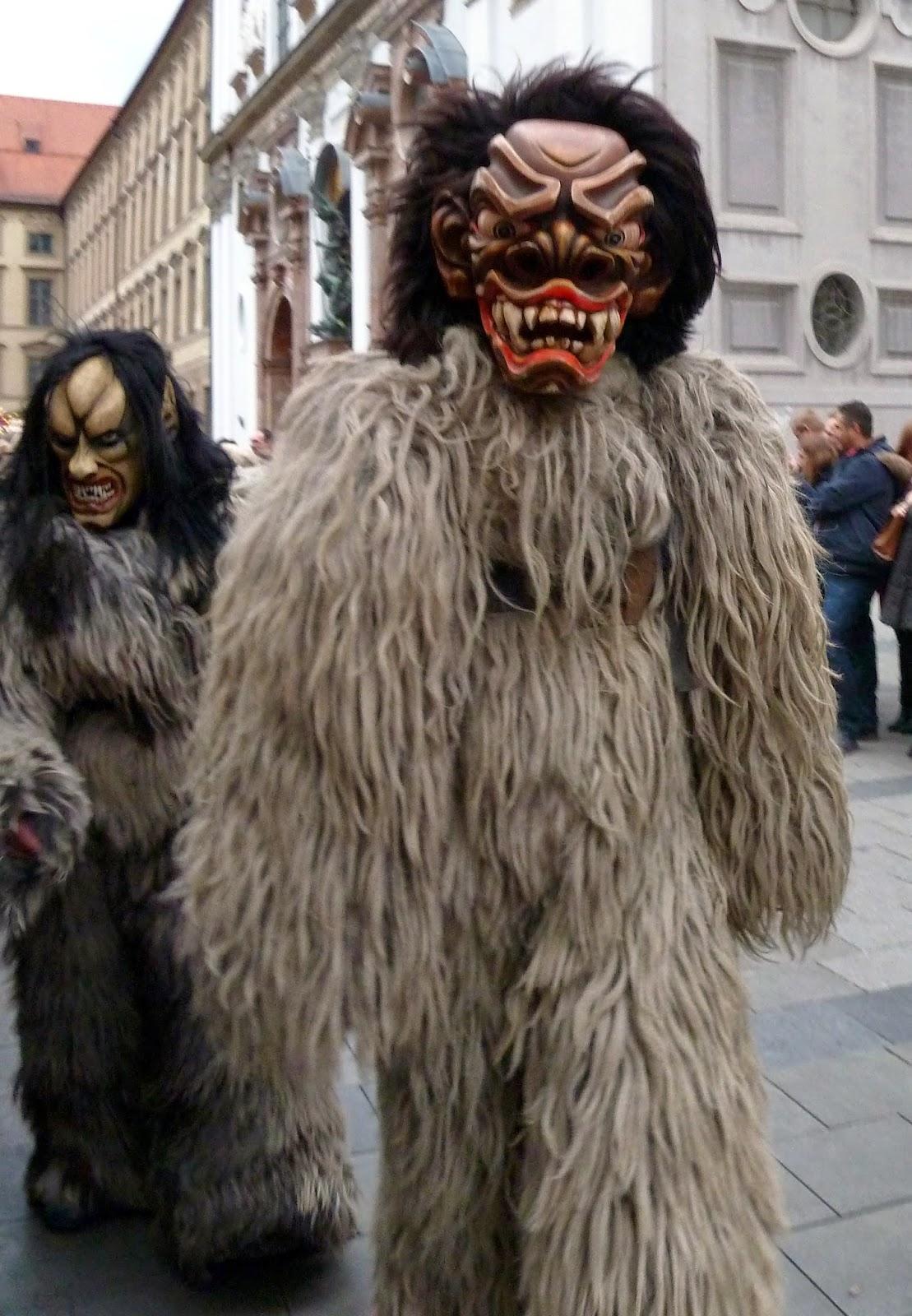 Rencontre avec les Krampus à Munich à l'occasion de Saint Nicolas 5