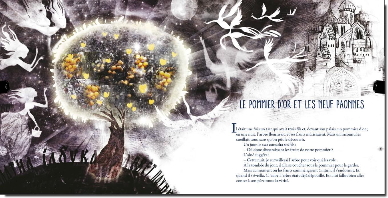 le pommier et les neuf paonnes contes serbes populaires