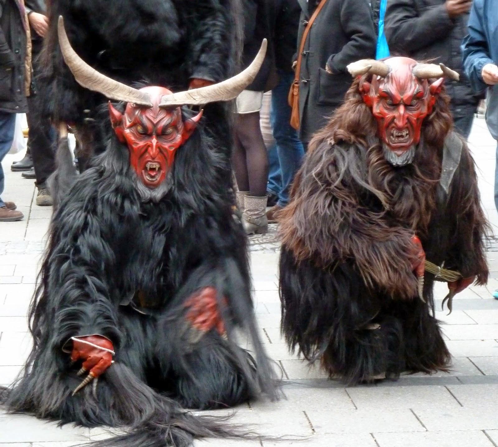 Rencontre avec les Krampus à Munich à l'occasion de Saint Nicolas 3
