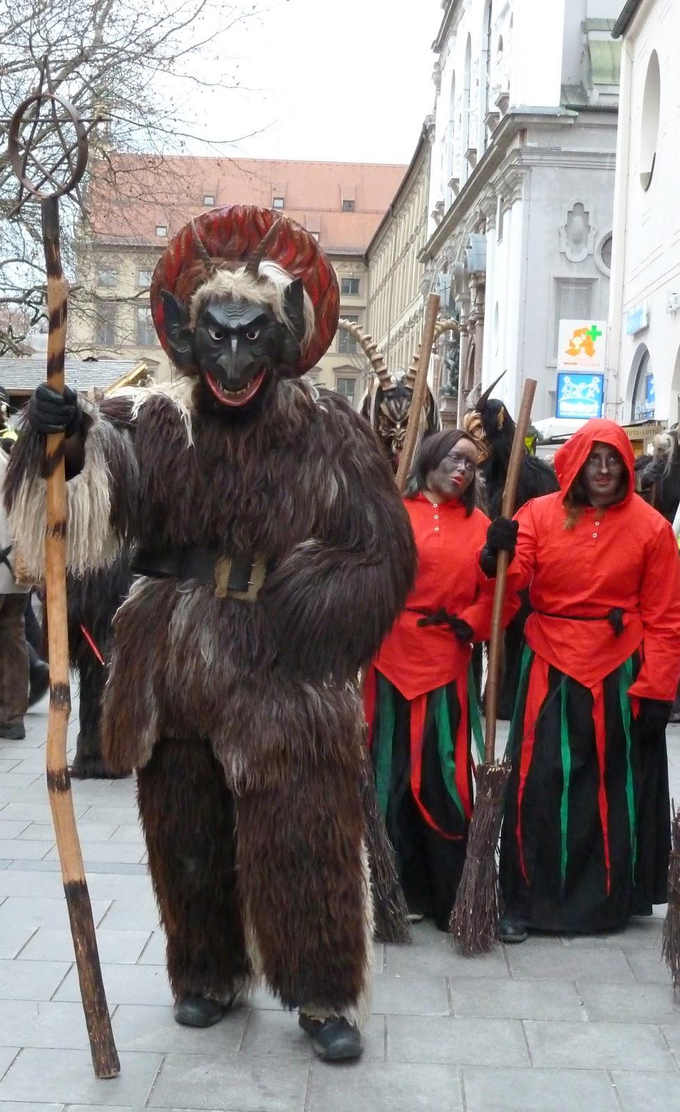Rencontre avec les Krampus à Munich à l'occasion de Saint Nicolas 8