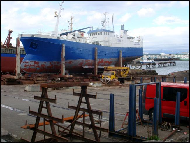 port reykjavik islande