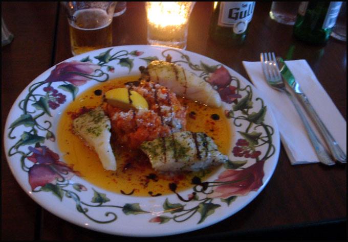 restaurant reykjavik morue grillee risotto