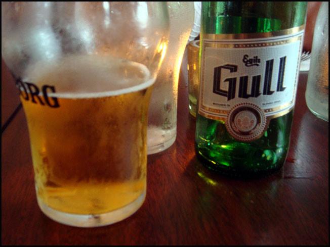 reykjavik biere islandaise gull