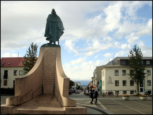 reykjavik monument leif erikson